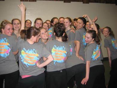 Badger's Best Dance Crew!! T-Shirt Photo