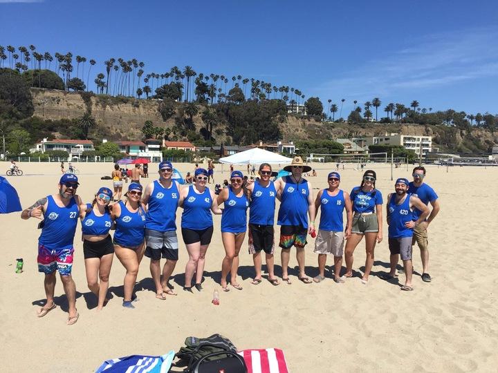 Kickball Beach Party! T-Shirt Photo