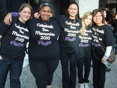 Cakewalk For Memories   Canada, 2010! T-Shirt Photo