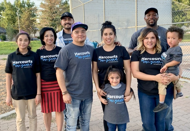 We Love Doing Real Estate And Life With Each Other! Vanguard Family! T-Shirt Photo