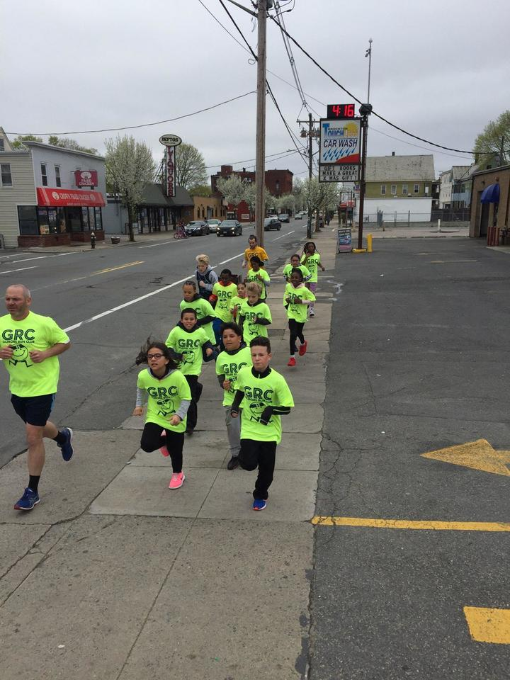 Gilmore Run Club....Getting Healthy One Step At A Time T-Shirt Photo
