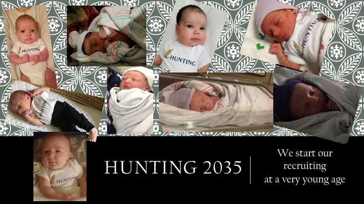 Hunting Recruiting Begins Early! T-Shirt Photo