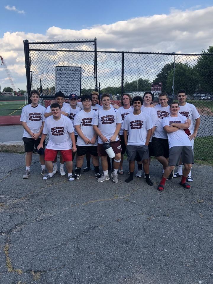 Belmont High School Hogs T-Shirt Photo