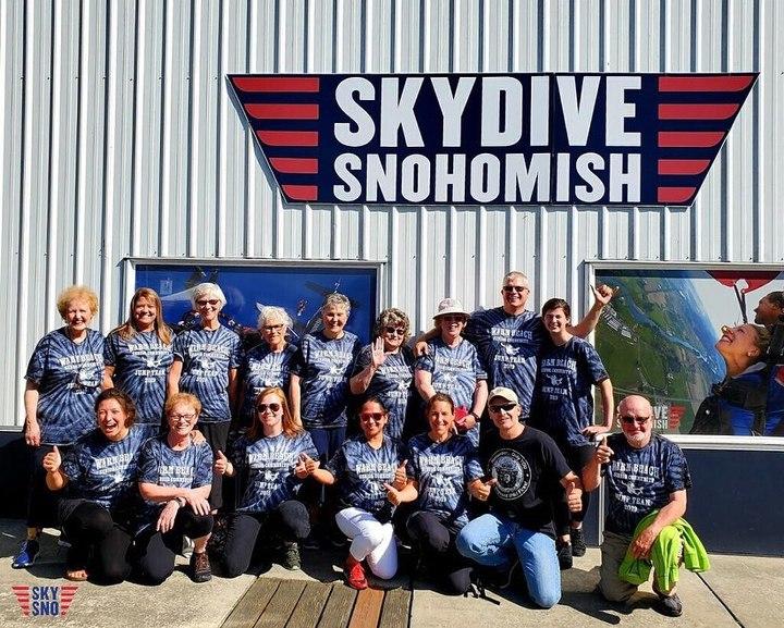 Warm Beach Senior Community Jump Team T-Shirt Photo