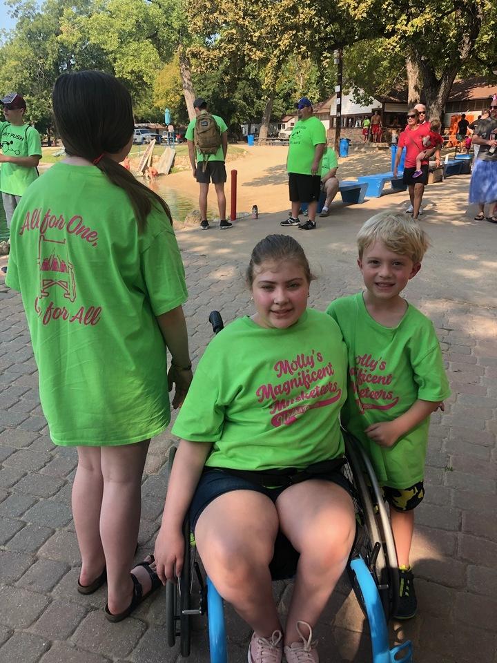 Walk N Roll For Spina Bifida T-Shirt Photo