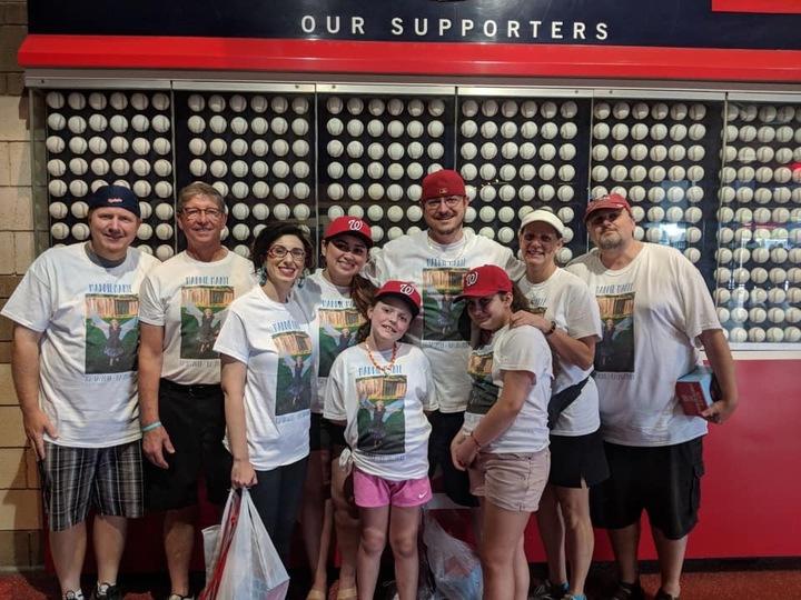 Dipg Awareness Day At Nationals Park T-Shirt Photo