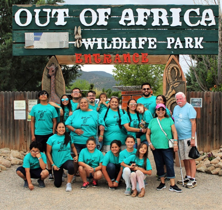Out Of Africa Family Vacation T-Shirt Photo
