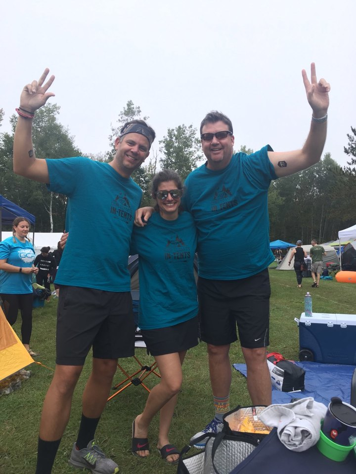 Our Team Is In Tents T-Shirt Photo