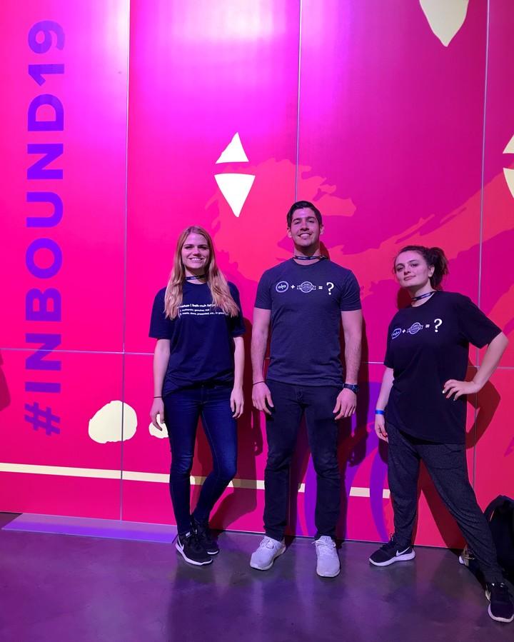 Bonafide Rockin' Custom Ink Shirts At The Inbound 2019 Conference T-Shirt Photo