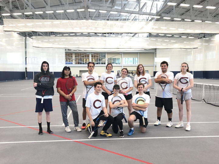 Colgate Club Tennis At Ithaca T-Shirt Photo