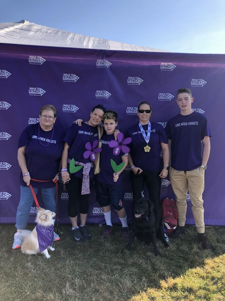 Team Mullen/Alzheimer's Walk 2019 T-Shirt Photo