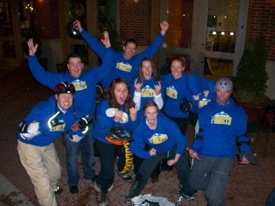 Broomball Victory T-Shirt Photo