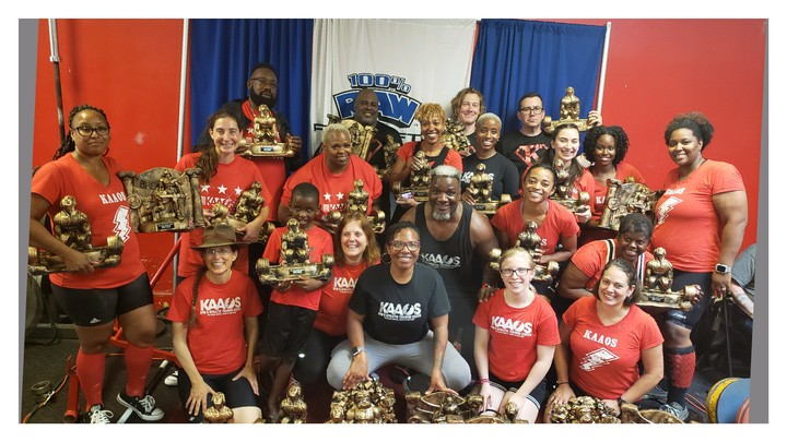 Dc Strong Powerlifting Team T-Shirt Photo