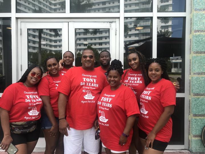 Tony's Bday Cruise T-Shirt Photo
