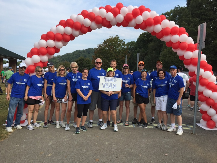 Walk To Defeat Als In Knoxville  T-Shirt Photo