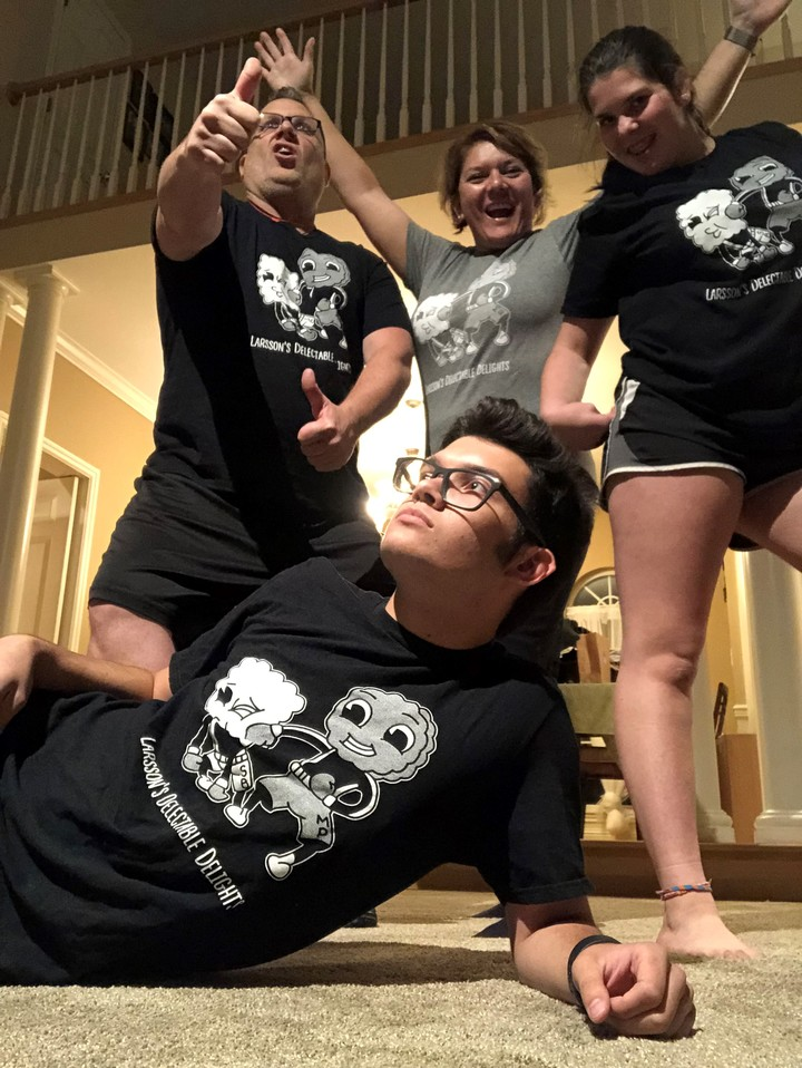 We Really Love Our New T Shirts! T-Shirt Photo