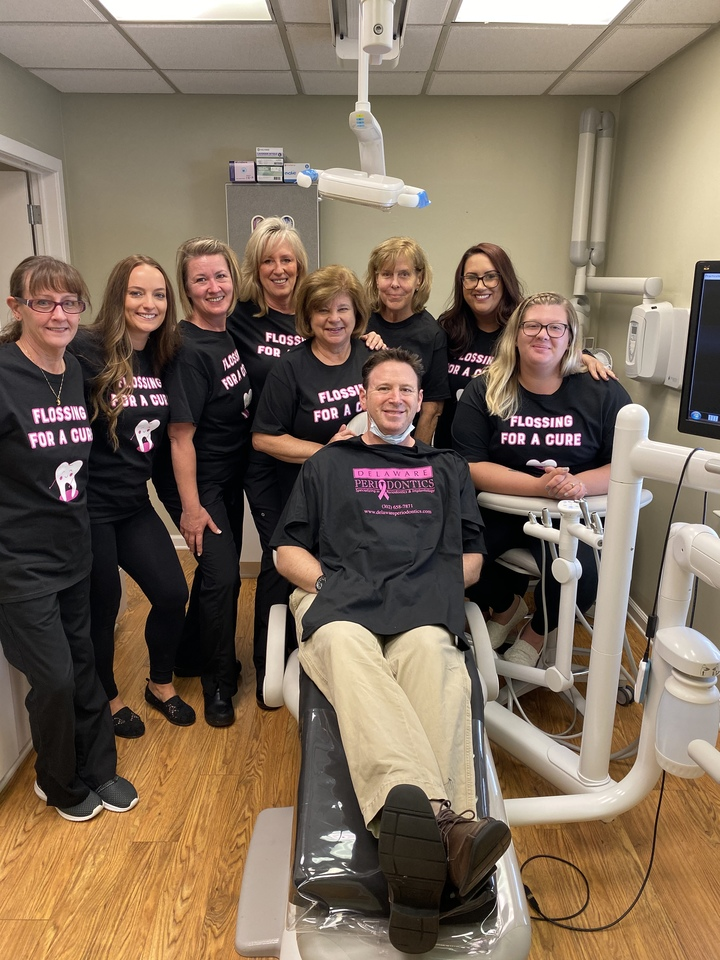 Flossing For A Cure T-Shirt Photo