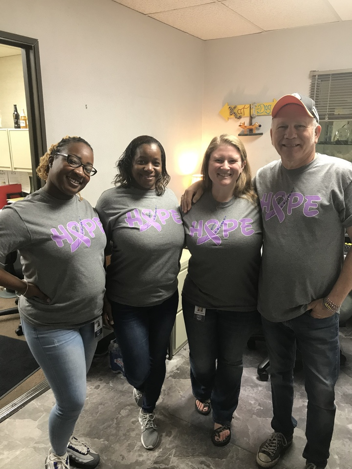 Hope For A Cure T-Shirt Photo