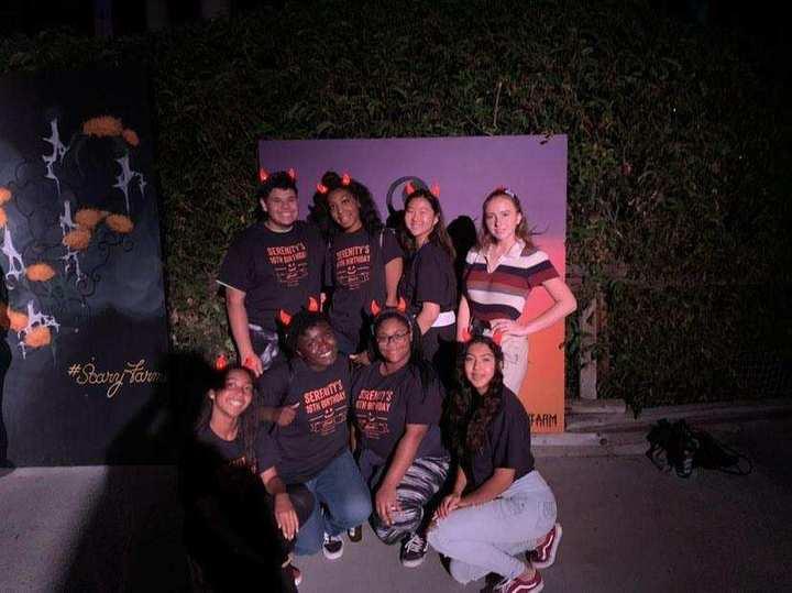 16th Birthday At Knott's Scary Farm T-Shirt Photo