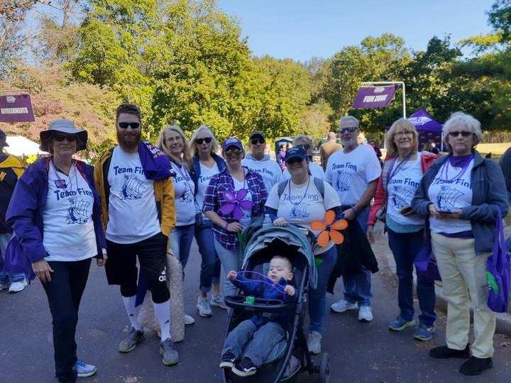 Team Finn Walks To End Alzheimer's T-Shirt Photo