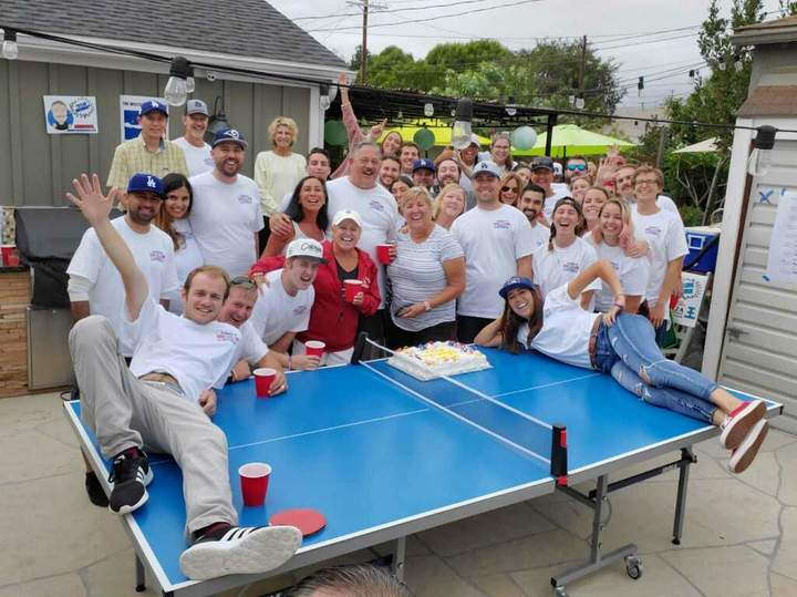 Ping Pong Tourney For Epilepsy!  T-Shirt Photo