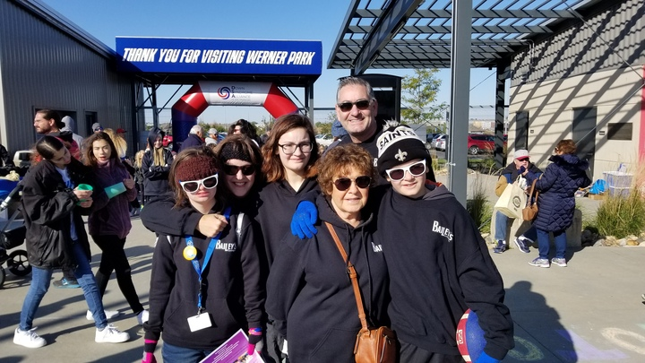 Team Bailey Step Up For Down Syndrome Walk And Festival T-Shirt Photo