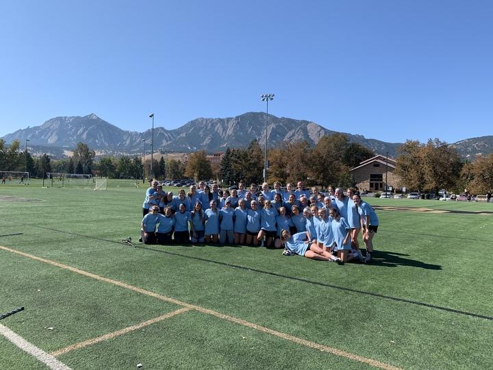 Cu Women's Club Lacrosse Alumni Game T-Shirt Photo