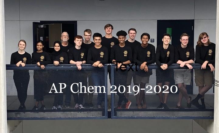 Ap Chemistry 2019 2020 T-Shirt Photo