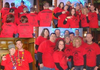 3rd Annual Lannerpalooza   Mardi Gras In Deadwood T-Shirt Photo