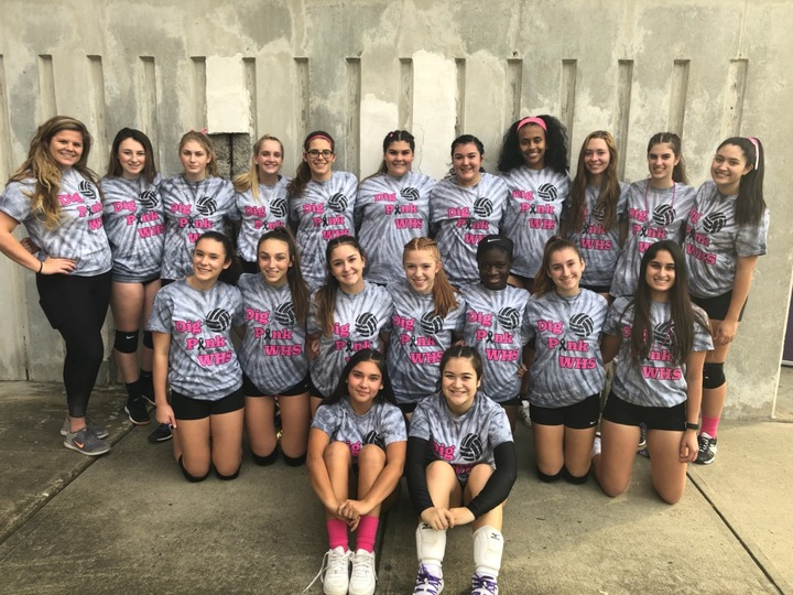 Dig Pink For Westhill Volleyball  T-Shirt Photo