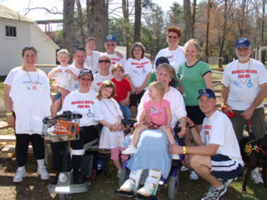 Team Marges Milers For Ms T-Shirt Photo