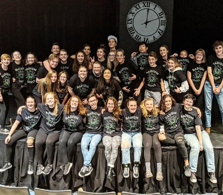 Radium Girls Cast And Crew T-Shirt Photo