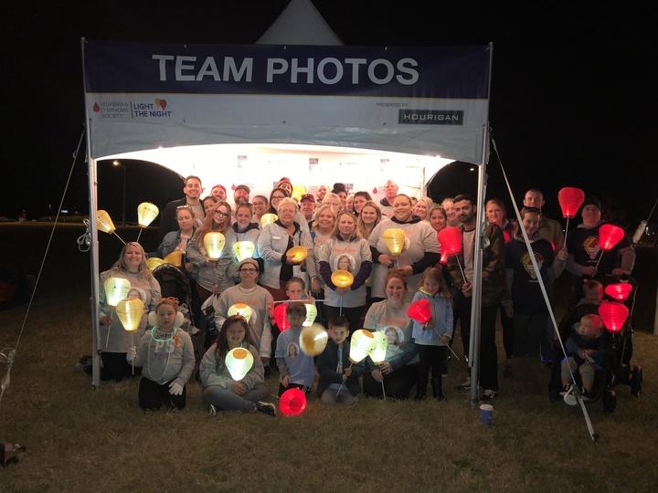 Team Vickie Light The Night T-Shirt Photo