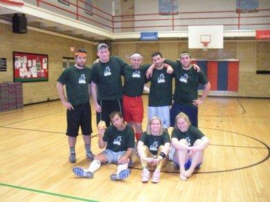 Dodgeball Dominance 2009 T-Shirt Photo