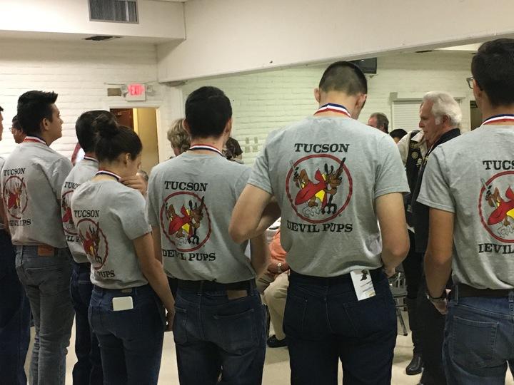 Tucson Devil Pups Veteran's Day Event T-Shirt Photo