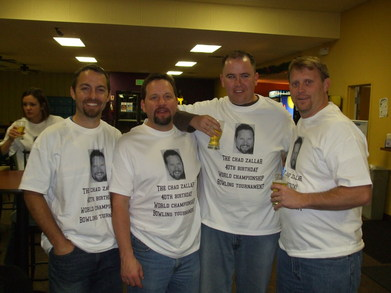 Chad's 40th T-Shirt Photo