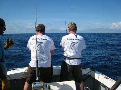 Double Dutch Fishing Team In Kenya T-Shirt Photo