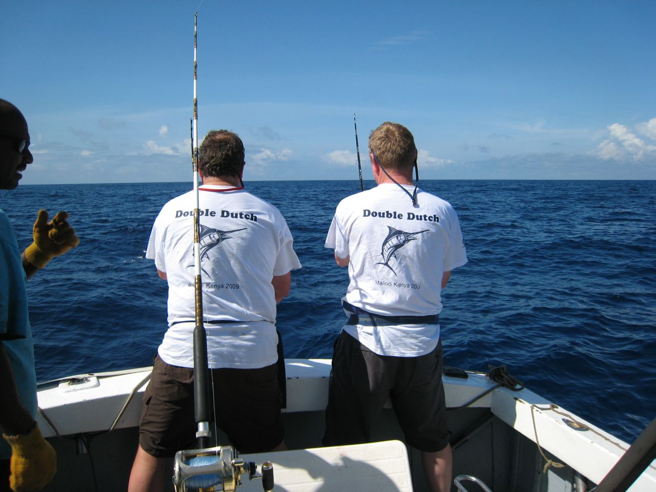 Custom t shirts for double dutch fishing team in kenya for Fishing team shirts