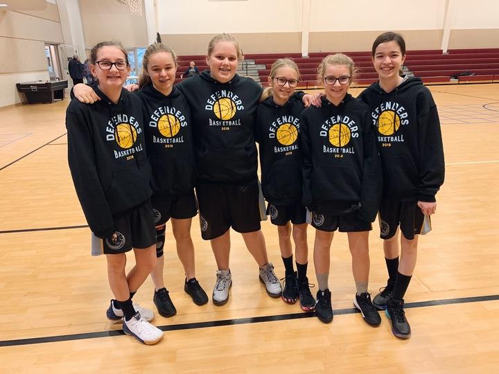 Defenders Basketball T-Shirt Photo
