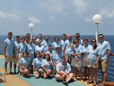 Grandpa B's Family Cruise To Bermuda T-Shirt Photo