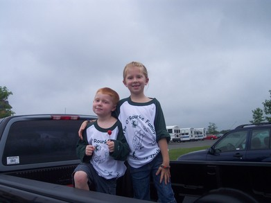 Kids At The Ballgame T-Shirt Photo