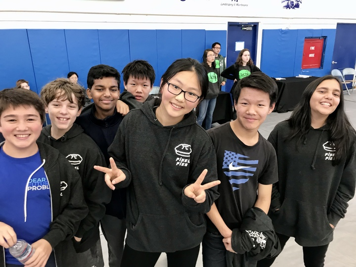 Vex Iq Robotics Team Of 7th Graders T-Shirt Photo