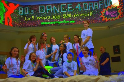 Dance 4 Darfur Team :) T-Shirt Photo