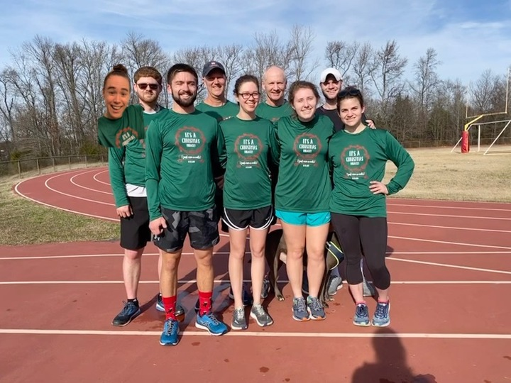 A Very Merry Christmas Mile  T-Shirt Photo
