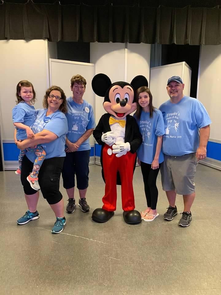 Make A Wish Disney Trip T-Shirt Photo