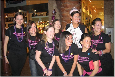 Elizabeth's Bachelorette Party T-Shirt Photo