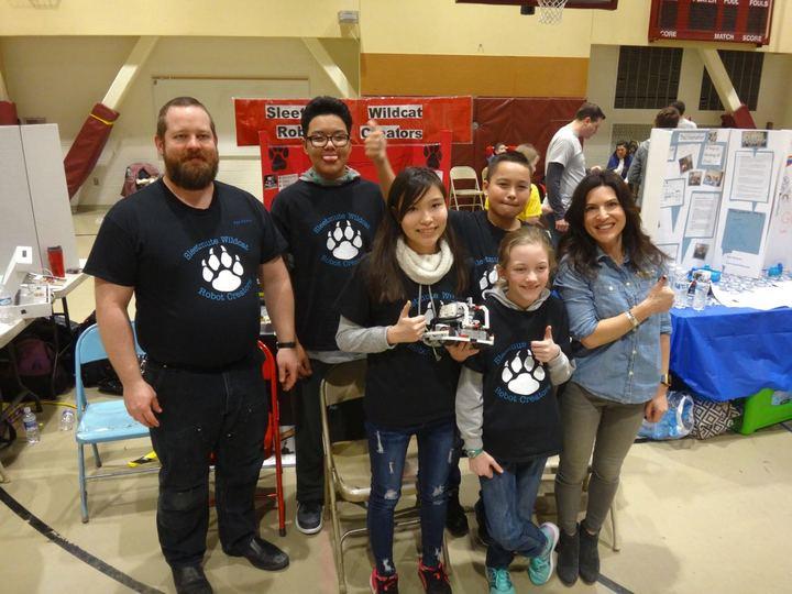 Sleetmute Wildcat Robot Creators T-Shirt Photo