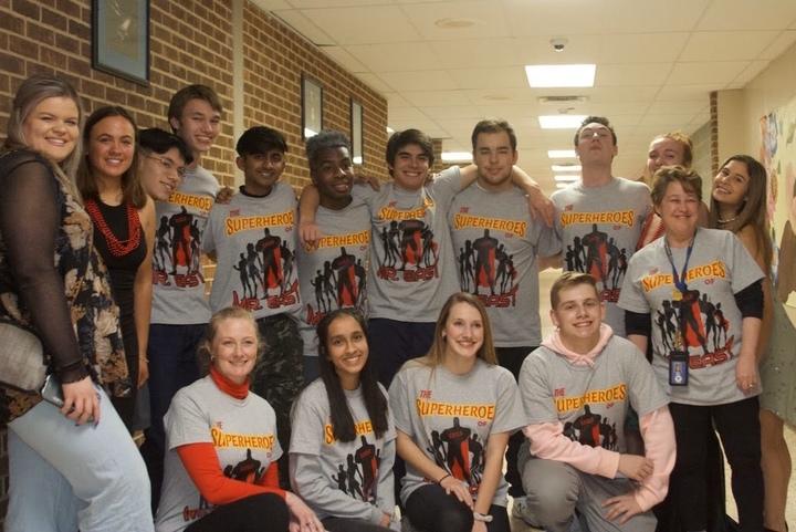 The Superheroes Of Mr. East T-Shirt Photo