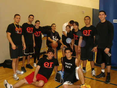 Theta Tau Basketball!!!! T-Shirt Photo