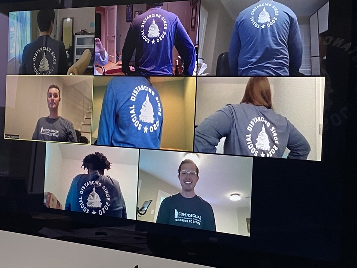 Connecting In A Virtual World  T-Shirt Photo